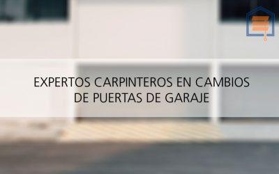 Colocación de puertas de garaje